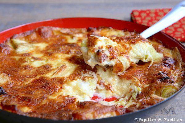 Le gratin de poireaux au fromage et au chorizo, un repas que vous allez dévorer !