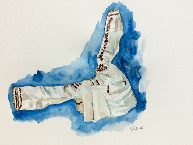 Have Watercolors Will Travel: Airborne