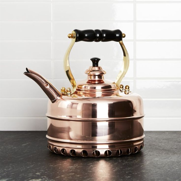 Free Shipping.  Shop Simplex Heritage No.  3 Copper Gas Tea Kettle.  Handcrafted from the highest-grade copper using techniques that date back over 100 years, the Simplex Heritage No.  3 kettle brings a British classic to your gas stovetop.
