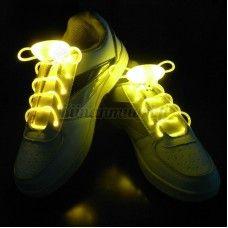 LED-kengännauhat, keltainen