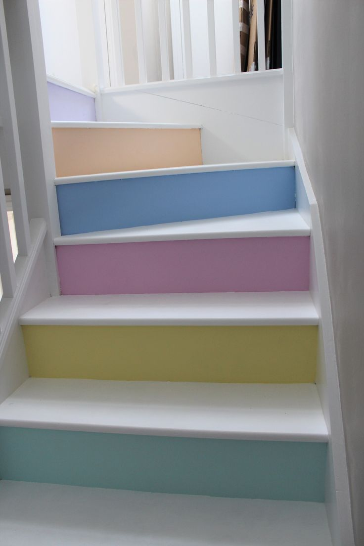 Pastel Home My Stairs White Rustoleum Chalky Floor