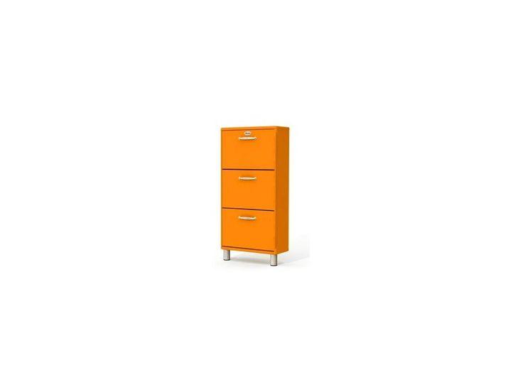 Szafka na Buty Malibu pomarańczowa — Szafki na buty Tenzo — sfmeble.pl