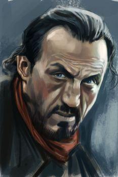 Bronn - Game of Thrones by stokesbook... I just LOVE Bronn