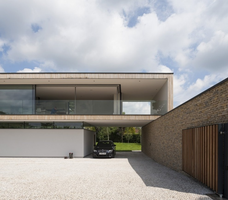 Hurst House, Bourne End, United Kingdom | by Strom Architects, John Pardey Architects, Magnus Strom