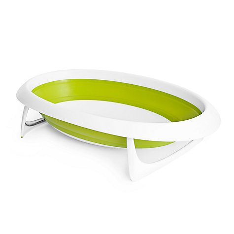 Buy Boon Fold Up Baby Bath, Lime Online at johnlewis.com