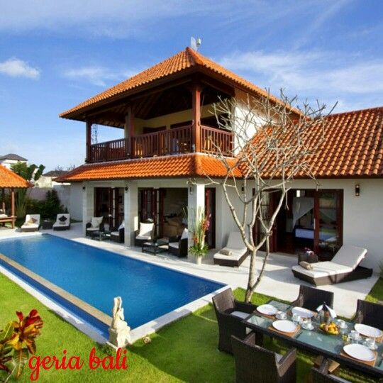 """3 bedrooms private villa located in south-west of Bali near the peaceful #balinese village of """"#Umalas"""" blessed with beautiful view, only 5 – 10 min from the trendy #Seminyak area.  www.geriabalivacation.com/villa-bugenvil/  #bali #geriabali #travellerworld #destinosmaravilhososbyeli #hgtv #beautifuldestinations #luxury #luxwt #thosesummerdays__ #pinktrotters #golden_heart #holiday #vacation #roomcritic #sassychris1 #Indonesia #theluxurylifestylemagazine #trip #lycianman #thegoldlist #indo…"""