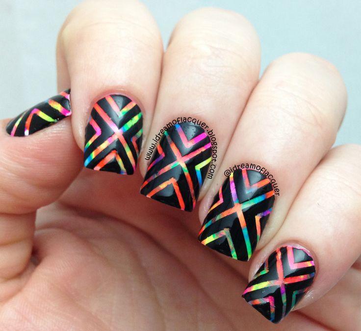 Sarabeautycorner Nail Art: 25+ Best Ideas About Tape Nail Art On Pinterest