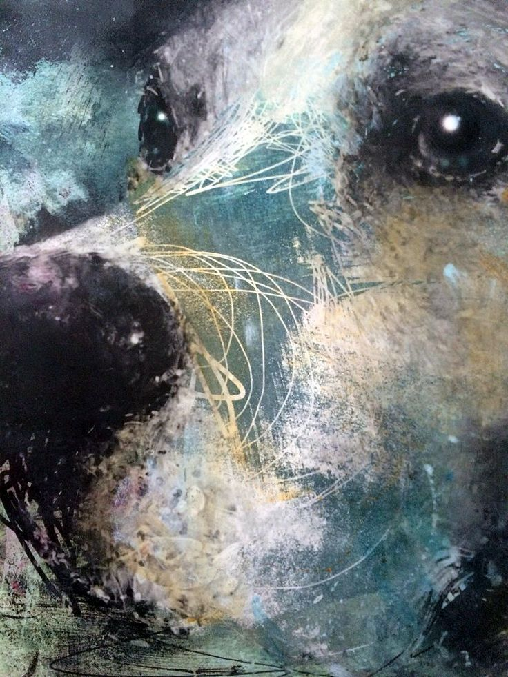 Harry Bunce - dog painting
