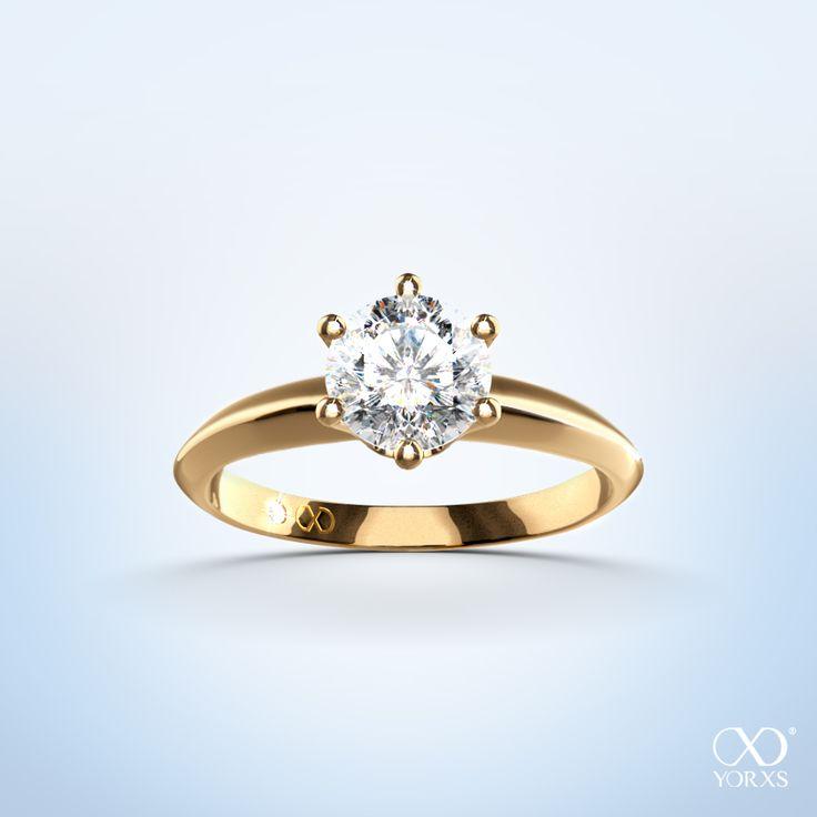 Diamantring verlobung gold  Die 424 besten Bilder zu Diamonds are forever auf Pinterest