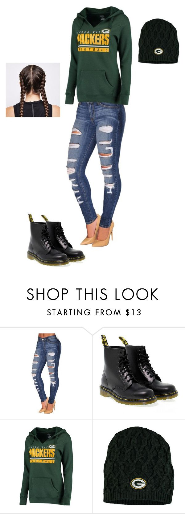 """football gam"" by rcross0062 on Polyvore featuring Dr. Martens and Ultimate"