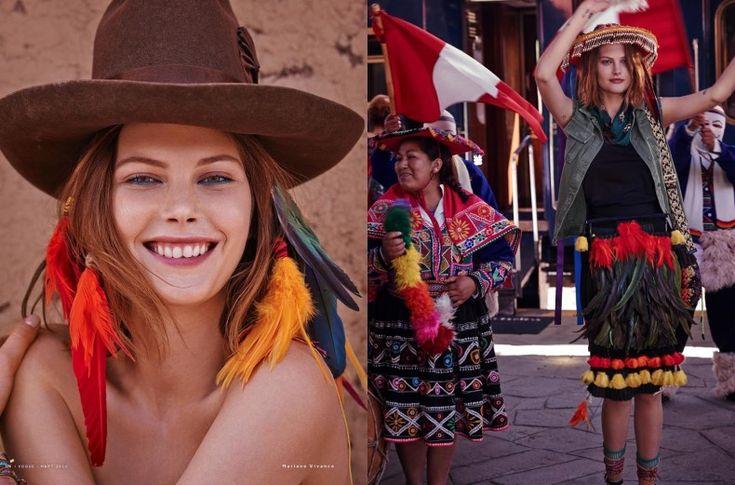 Vogue Rusia En Machu Pichu