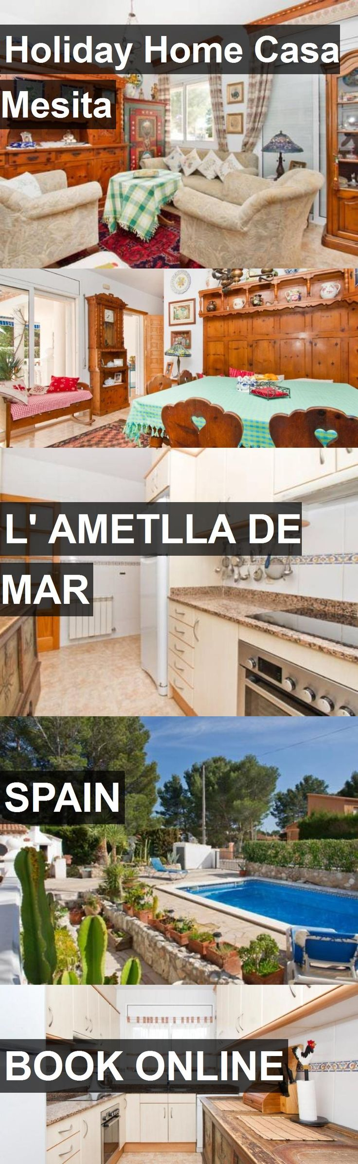 Hotel Holiday Home Casa Mesita in l' Ametlla de Mar, Spain. For more information, photos, reviews and best prices please follow the link. #Spain #l'AmetlladeMar #travel #vacation #hotel