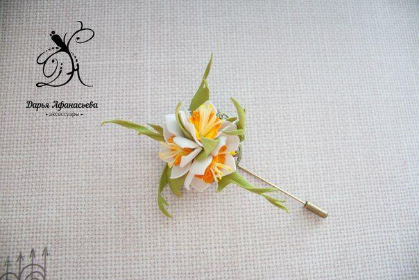 Аксессуары с цветами из фоамирана. | 21 фотография