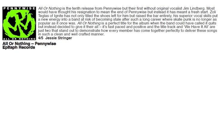 No Heroes Mag album review