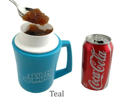 slush mug - turn any regular soda into a slush!