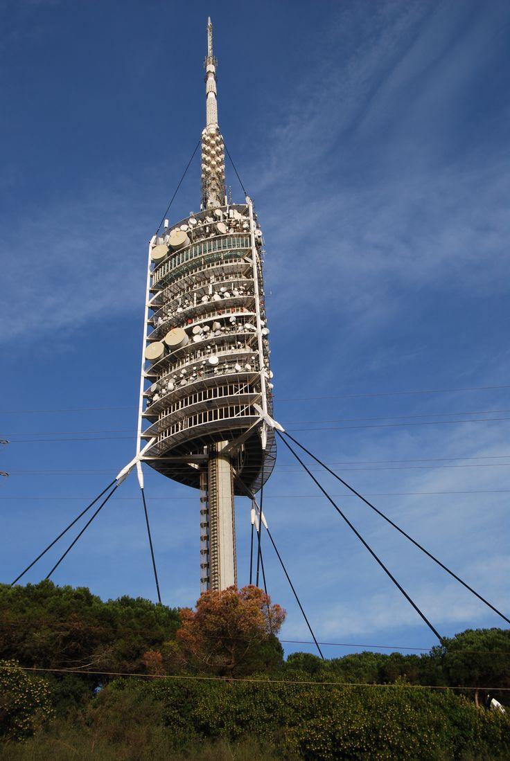 Resultat d'imatges de torre de collserola
