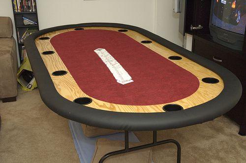 Pokeren aan je DIY-pokertafel