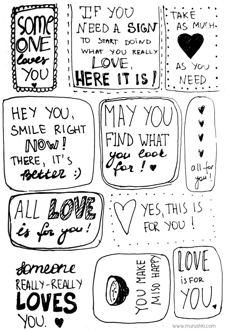 #love notes by murushki #free #typography #lettering