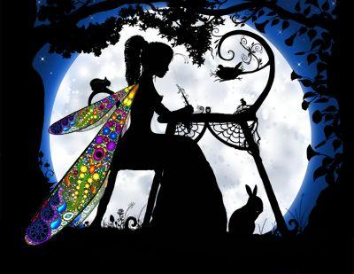 Fairies: Abundantia, Fairy of Abundance + Prosperity | #fairies