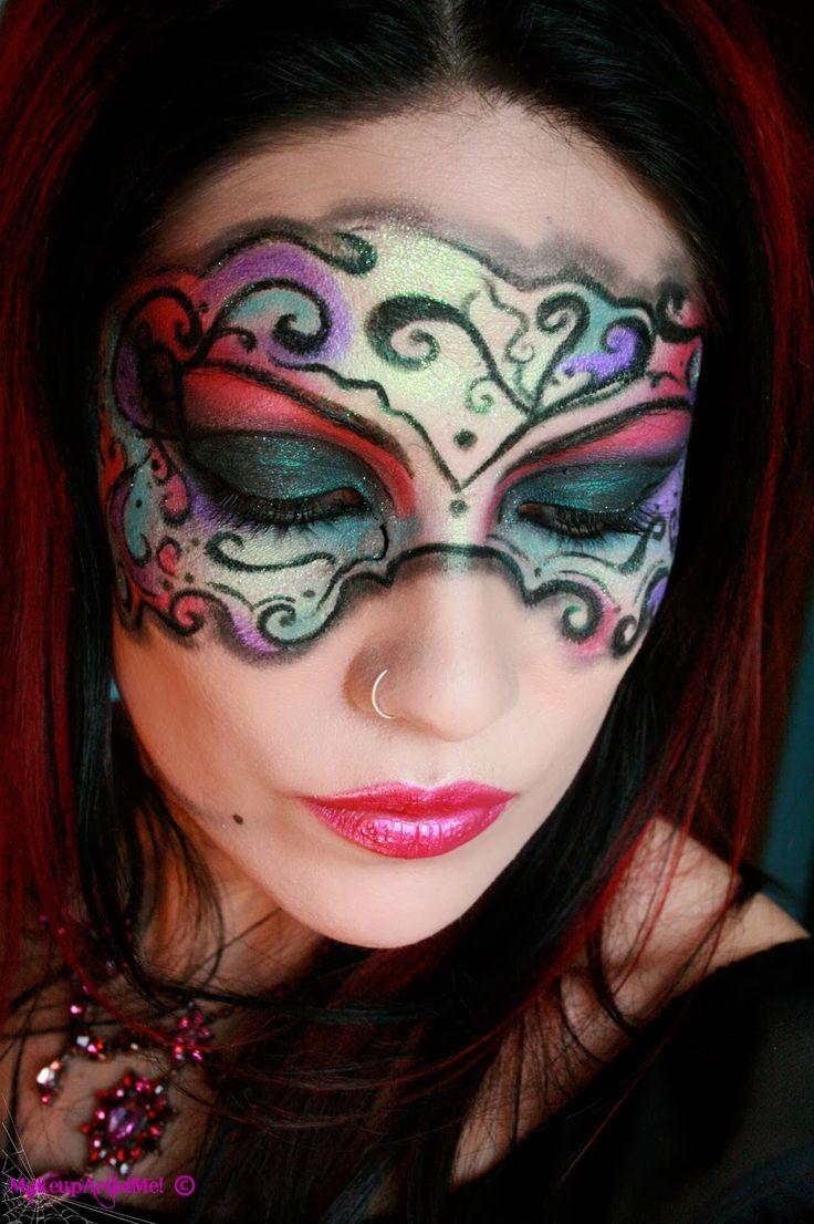 14 best Masquarade makeup images on Pinterest