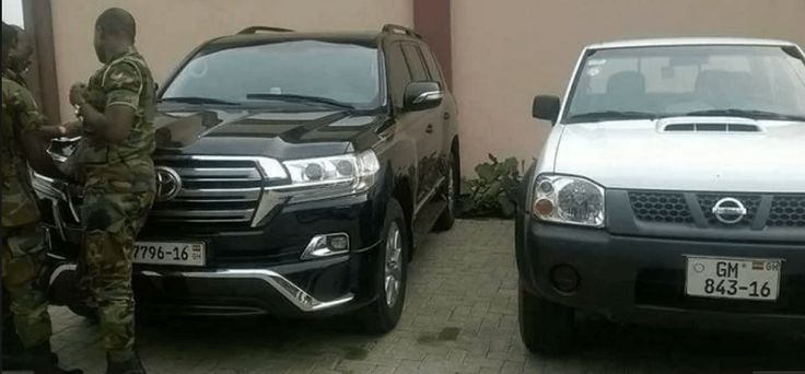 cars soldiers seized from Kofi Adam The Ghana Police Service has confirmed that the five cars seized from the residence of the National Organizer of the opposition National Democratic Congress (NDC) Kofi Adams, are not owned by state. This follows detailed investigations carried out by the...