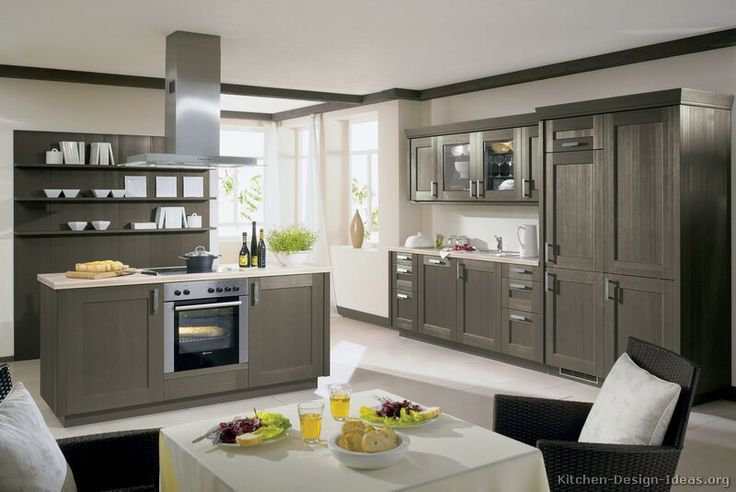 129 Best Gray Kitchens Images On Pinterest | Contemporary Unit Kitchens,  Kitchens And Modern Kitchens