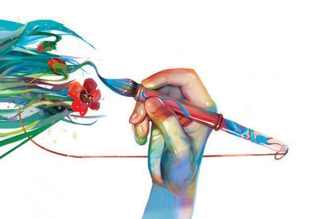 Мы сами рисуем свою жизнь. Неважно, какой ты художник, важен лишь цвет краски.
