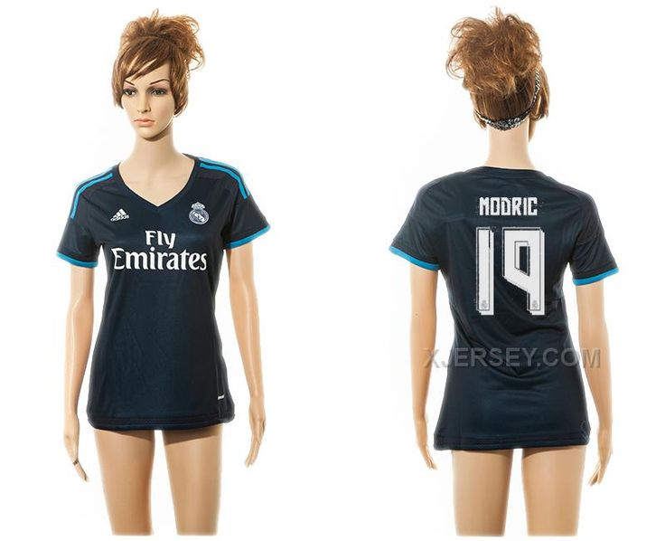 http://www.xjersey.com/201516-real-madrid-19-modric-third-away-women-jersey.html 2015-16 REAL MADRID 19 MODRIC THIRD AWAY WOMEN JERSEY Only $35.00 , Free Shipping!