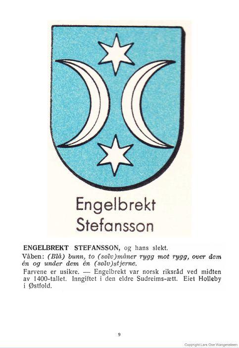 Engelbrekt Steffanssons slekt