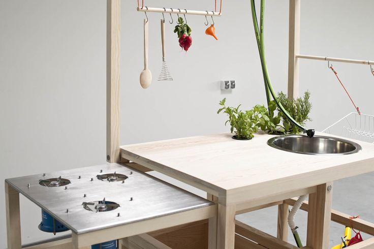 Modulare Küche: 14 Modelle mit unabhängigen Elementen