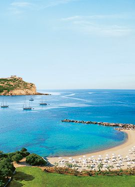 Cape Sounio Luxury Hotel | 5 star Hotel near Athens, Greece    #5StarHotel  #5StarHotelsAthens