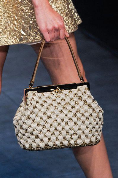 Dolce & Gabbana at Milan Fashion Week Spring 2014 - Details Runway Photos
