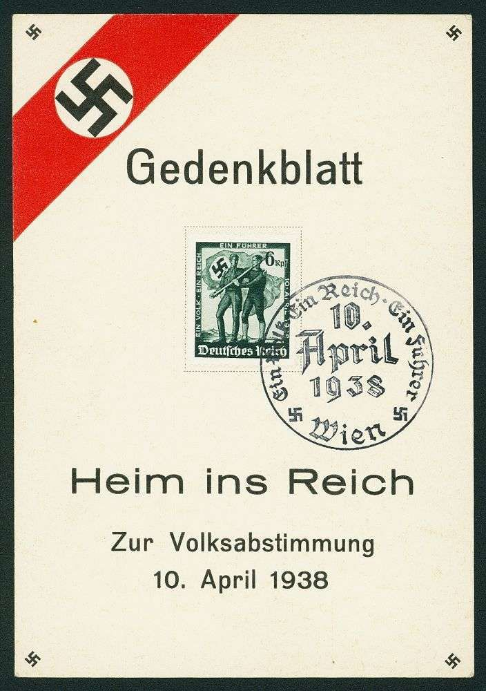 German Empire, 1933/45 Third Reich Picture postcards – Christian Andy