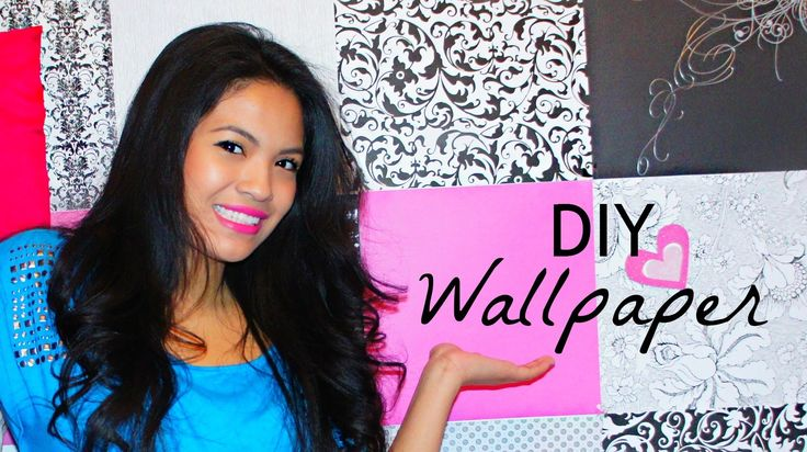 Room Decor: DIY Wallpaper! - Belinda Selene
