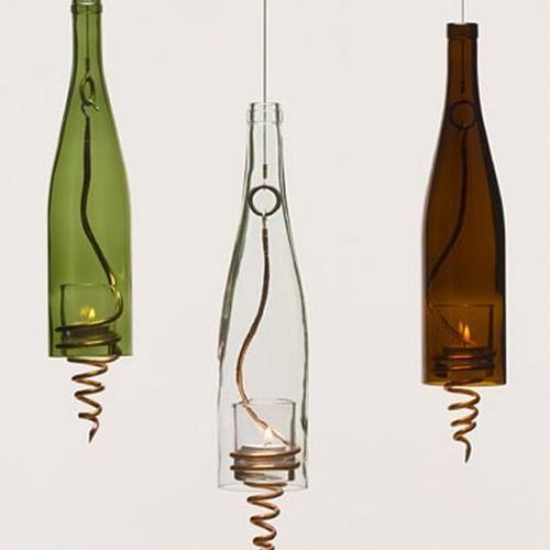 светильники из бутылок - Поиск в Google