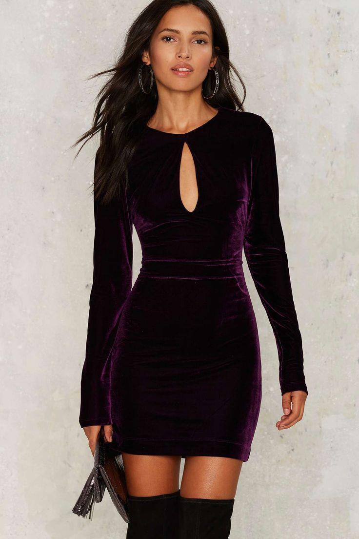 Nasty Gal Key the Change Velvet Dress | Shop Clothes at Nasty Gal!