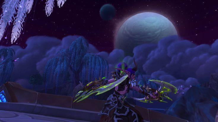 Demon hunter shadowmoon valley worldofwarcraft demon