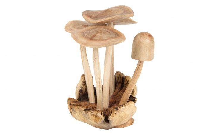 WOODEN MUSHROOM - Tabletop - Accessories | Jayson Home