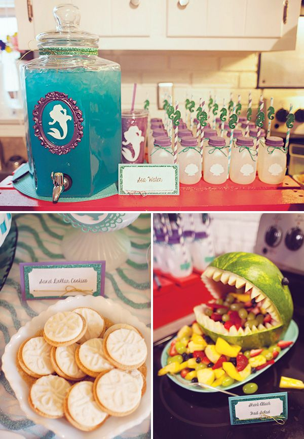 {DIYed} Ariel Themed Little Mermaid Birthday Party // Hostess with the Mostess®