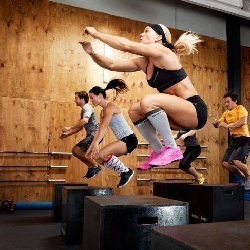 Box jumps! Did 50 of these just the other day:)