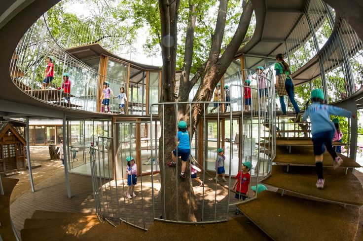 Get an inside look at the design process behind Fuji Kindergarten, a school where trees grow through classrooms and the roof is another place to play.