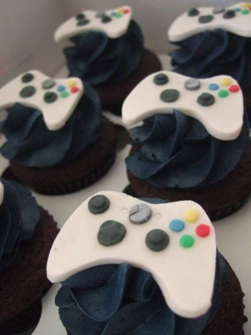 Xbox Cupcakes There Doesn T Seem To Be Directions But I