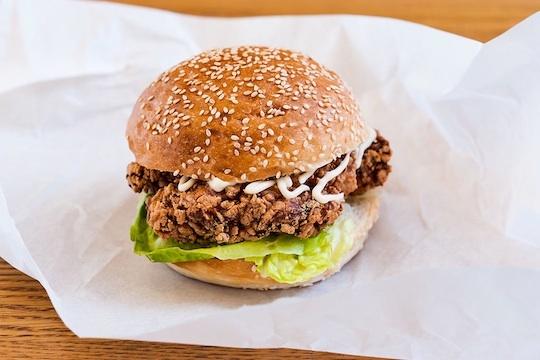 Introducing the Chicken Karaage Burger at Tsuru | Zagat Blog