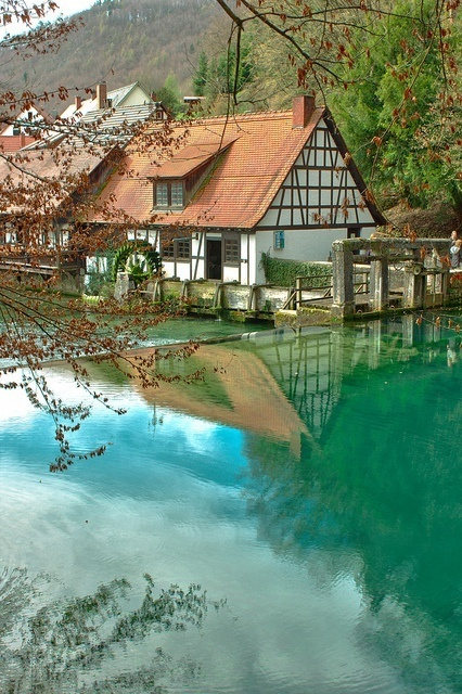 Blautopf Natural Spring, Blaubeuren, Germany