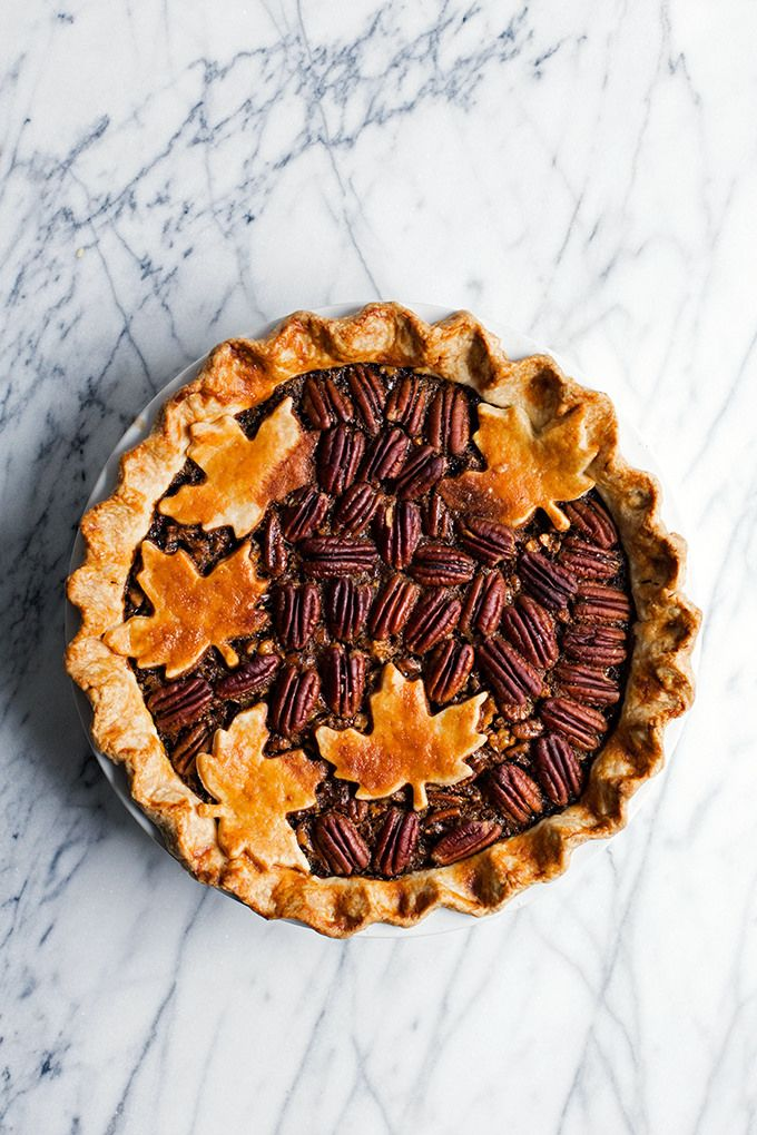 Bourbon Walnut Pecan Pie by @cindyr | ELLE Eten