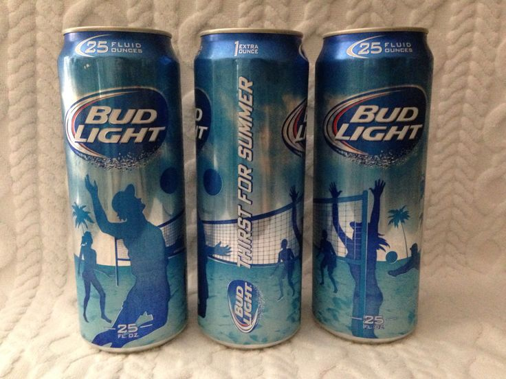 Bud Light Thirst For Summer Campaign 25 Oz Beach