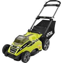 Ryobi RY40108A 20 in. 40-Volt Brushless Lithium-Ion Cordless Lawn Mower - Battery and Charger Not Included