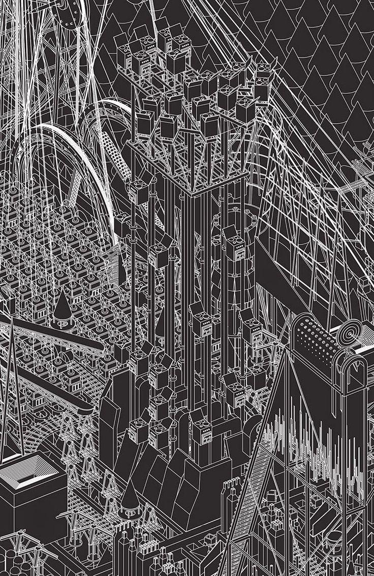 Grimm City. Tate Modern. Flea Folly Architects.
