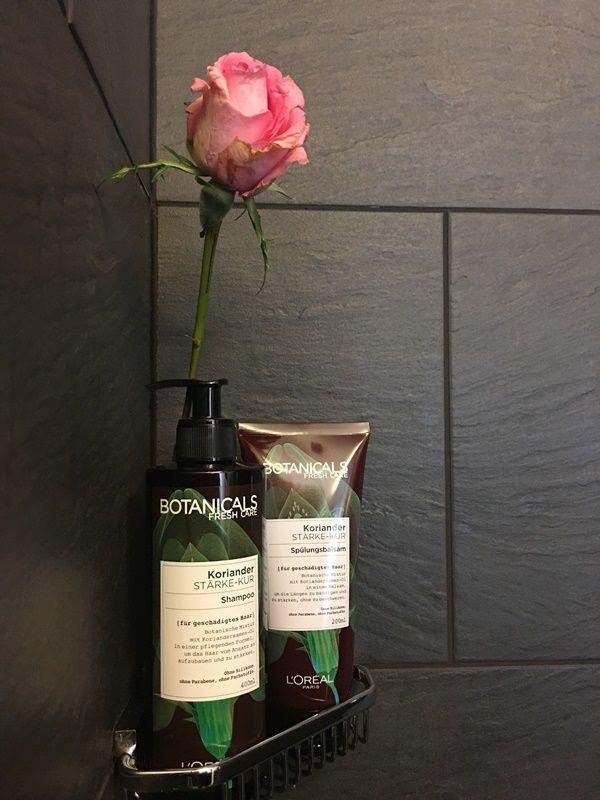 Botanicals Fresh Care, Erfahrungsbericht, Test, ohne Silikone, Parabene, Farbstoffe, Loreal Shampoo, Condioner, feine Haare, geschädigte Haare,