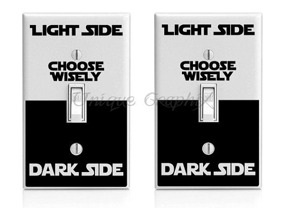 picture regarding Printable Light Switch Cover Template identified as star wars content birthday banner determine model. star wars
